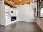 1259 N Wood St Unit 204 fireplace