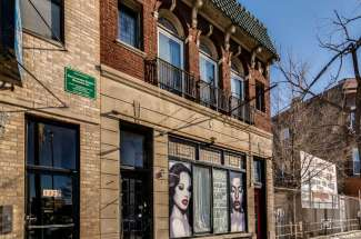 1325 N Ashland -4 Flat with Commercial Space
