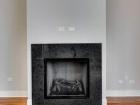 725 N Aberdeen Fireplace