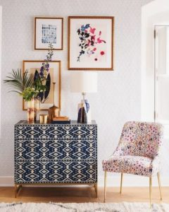 Multi pattern furniture