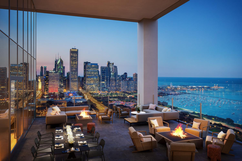 Nema Chicago outdoor lounge