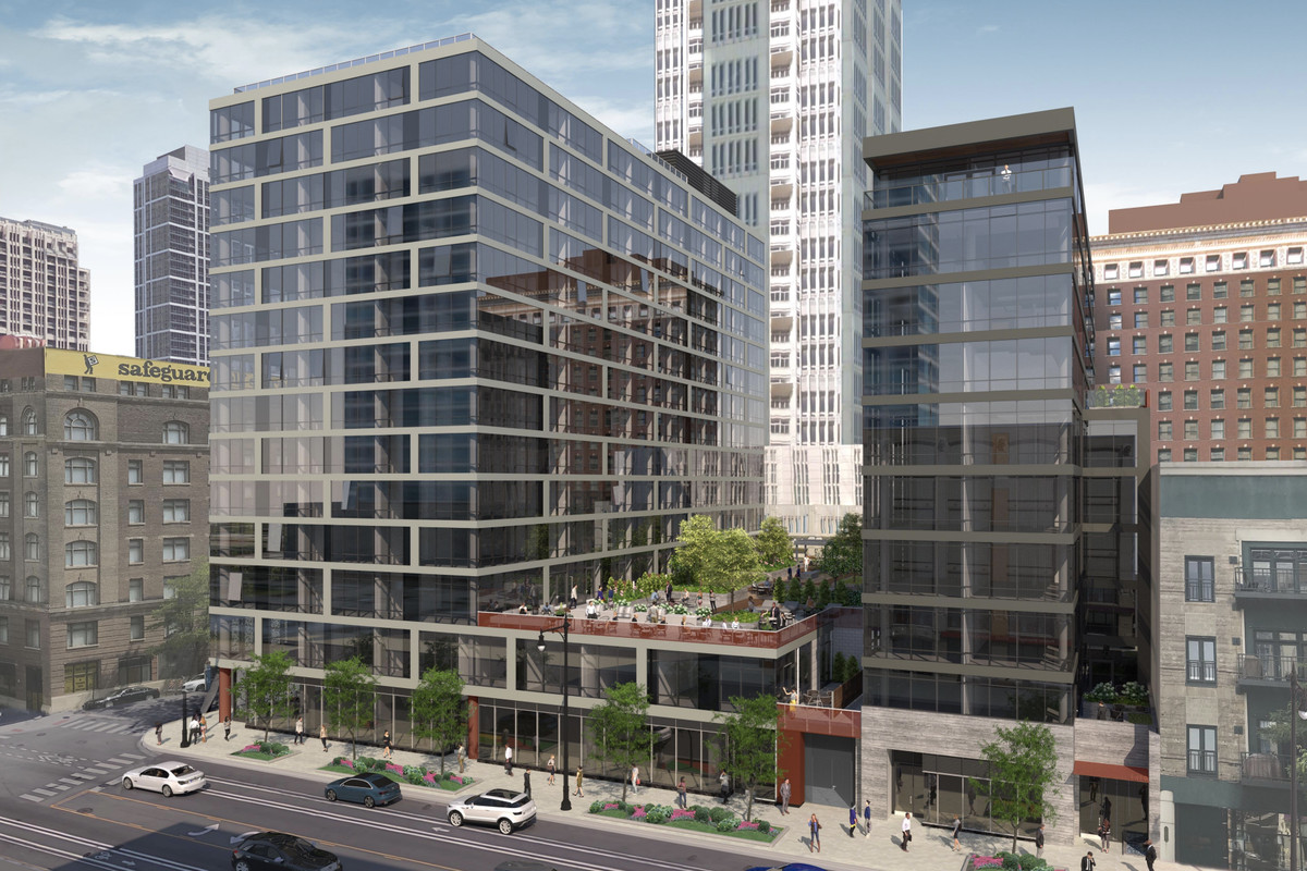 New 14th and Wabash Rental High-rise