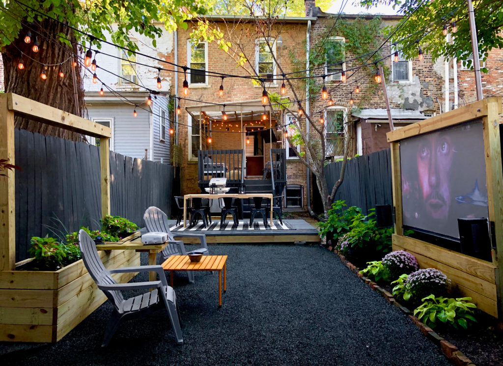 outdoor space for Father's Day